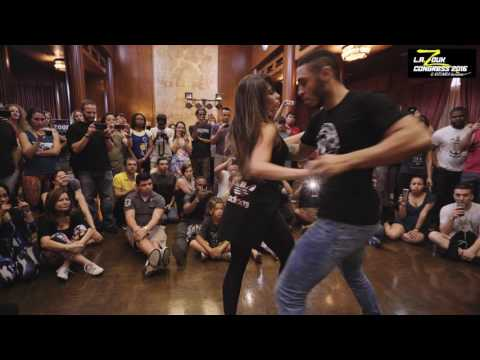 William + Paloma - LA Zouk Congress 2016 - Demo - Saturday 2