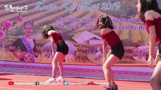 Nhóm nhảy Na Lốc nhảy HOT nhất Lễ Hội Gầu Tào Sín Chéng 2019 | TNVC