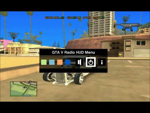 Roda De Emisoras V.3 LoL De GTA 5 Para GTA San Andreas [HD]