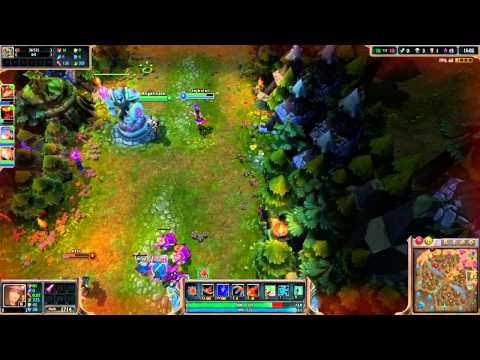 League Of Legends - First Game Ever Beginners Guide w/ Angelicate