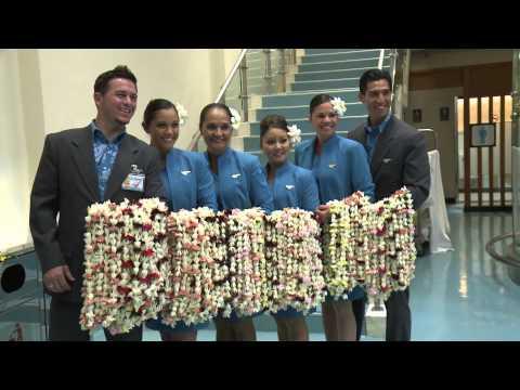 20130710 Hawaiian Airlines inaugural Taiwan 夏威夷航空首航台灣