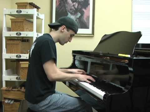 Nickelback- Lullaby- Piano Cover video