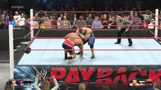 John Cena VS Rusev @PAYBACK I Quit Match For USA Title