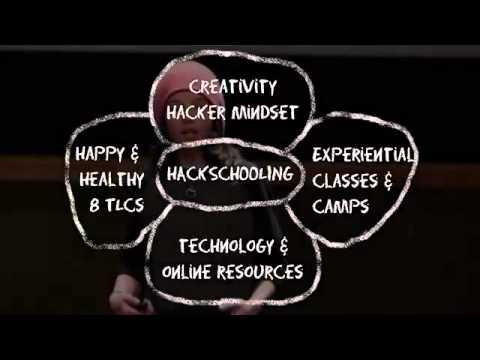 Hackschooling mi rende felice Logan LaPlante al TEDxUniversityofNevada