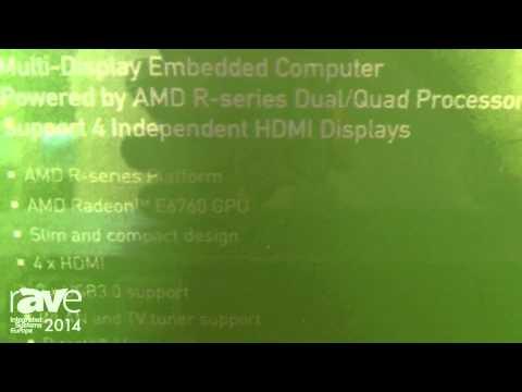 ISE 2014: NEXCOM Presents NDiS B842 Video Wall Player