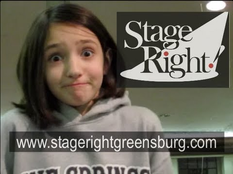 Preteen Acting Class: Tv Commercial Demos -- Stage Right Greensburg video