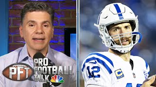 PFT Overtime: Antonio Brown returns to camp, Andrew Luck's injury | Pro Football Talk | NBC Sports