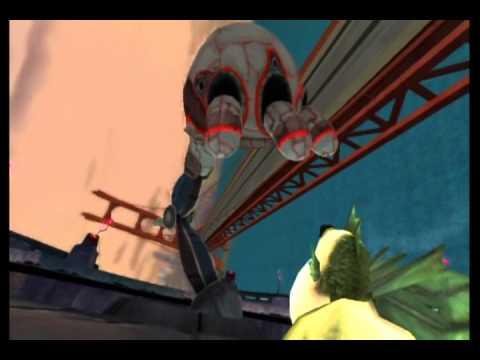 Monsters vs. Aliens Movie Game Walkthrough Part 10 (Wii)