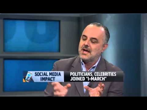 Eric Yaverbaum on MSNBC's Jansing & Co. discussing Social Media and Immigration