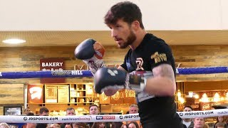 Robbie Davies Jr SLIPPING & SLIDING | Matchroom Boxing workout