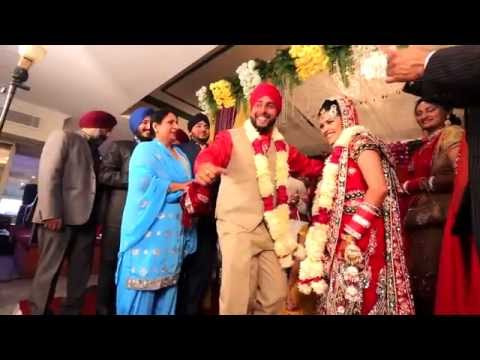 Punjabi Wedding Day Gurjot weds Prabhjot Dec2014