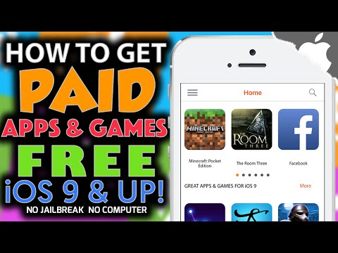 How To Get PAID APPS / GAMES FREE On iOS 9.3 & ↓ (NO JAILBREAK) (NO COMPUTER) iPhone iPad iPod Touch