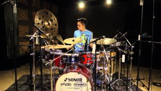 Echa Soemantri - Pharell Williams - Happy (Drum Reinterpretation)