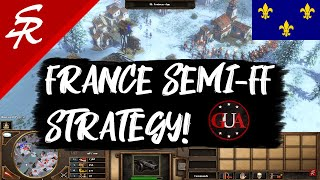 GUA's France Semi-Fast Fortress! Age of Empires III