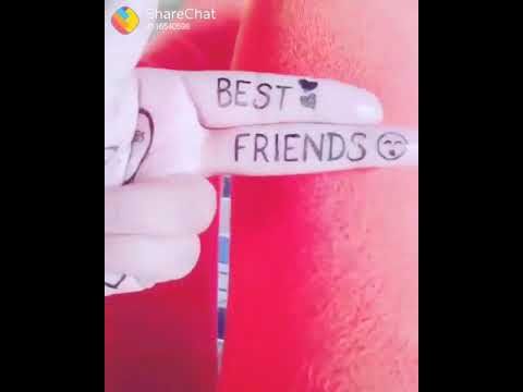 WhatsApp funny clip best friend song
