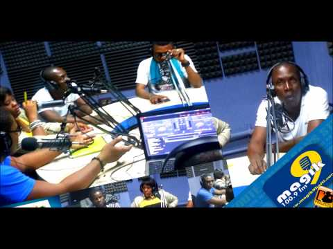Radio Magik9 100 9 FM PASTE BLAZE interview avec C-PROJECTS Kanaval 2015 HAITI