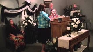 "Sis. Jessica and Sis. Bertha singing ""Family Circle"" at Hearts Ablaze Ministries"