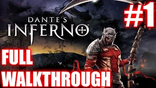 Dante's Inferno walkthrough part #1 - GRIM REAPER | PS3 gameplay | Full HD | NO COMMENTARY