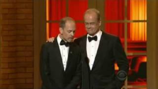 Kelsey Grammer and David Hyde Pierce (2010 Tony Awards)