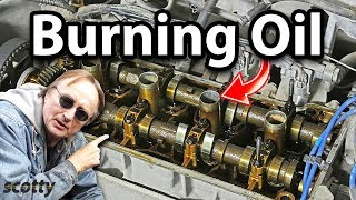 How to Fix a Car Engine that Burns Oil for 10 Bucks