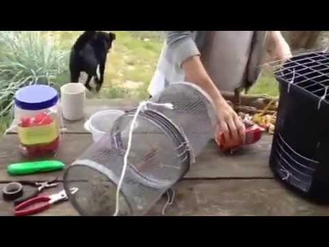 How to make AWESOME homemade crab trap