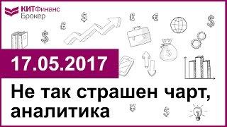 Не так страшен чарт, аналитика - 17.05.2017; 16:00 (мск)