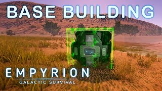 BUILDING IN ALPHA 9 | Empyrion Galactic Survival | Alpha 9 | Part 10