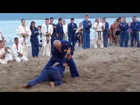 Best self-defense in the sand on the beach-REAL AIKIDO!!! Image 1