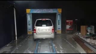 Automatic Car Wash Machine Installed Paonta Sahib, Himachal Pardesh _ Ezytek Clean