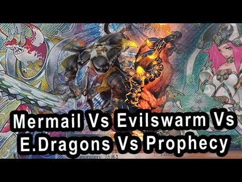 Mermails Vs Elemental Dragons Vs Spellbooks Vs Evilswarm (let me know which one you find best)