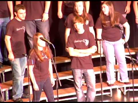 2013 Voices of the (603) - Ahwooh! cappella (Prospect Mountain High School) - Faith