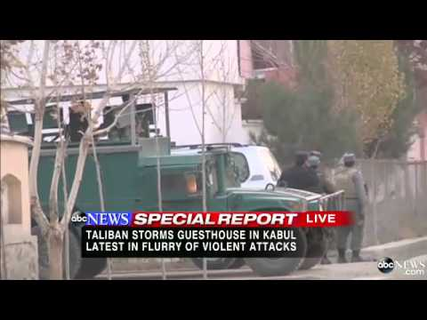 Taliban Storms Guesthouse in Kabul