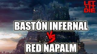 BASTÓN INFERNAL VS RED NAPALM | RETO FORZUDOS | LET IT DIE GAMEPLAY ESPAÑOL  | DICIEMBRE 2018