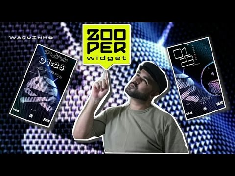 Zooper+ tutorial by droid mobile