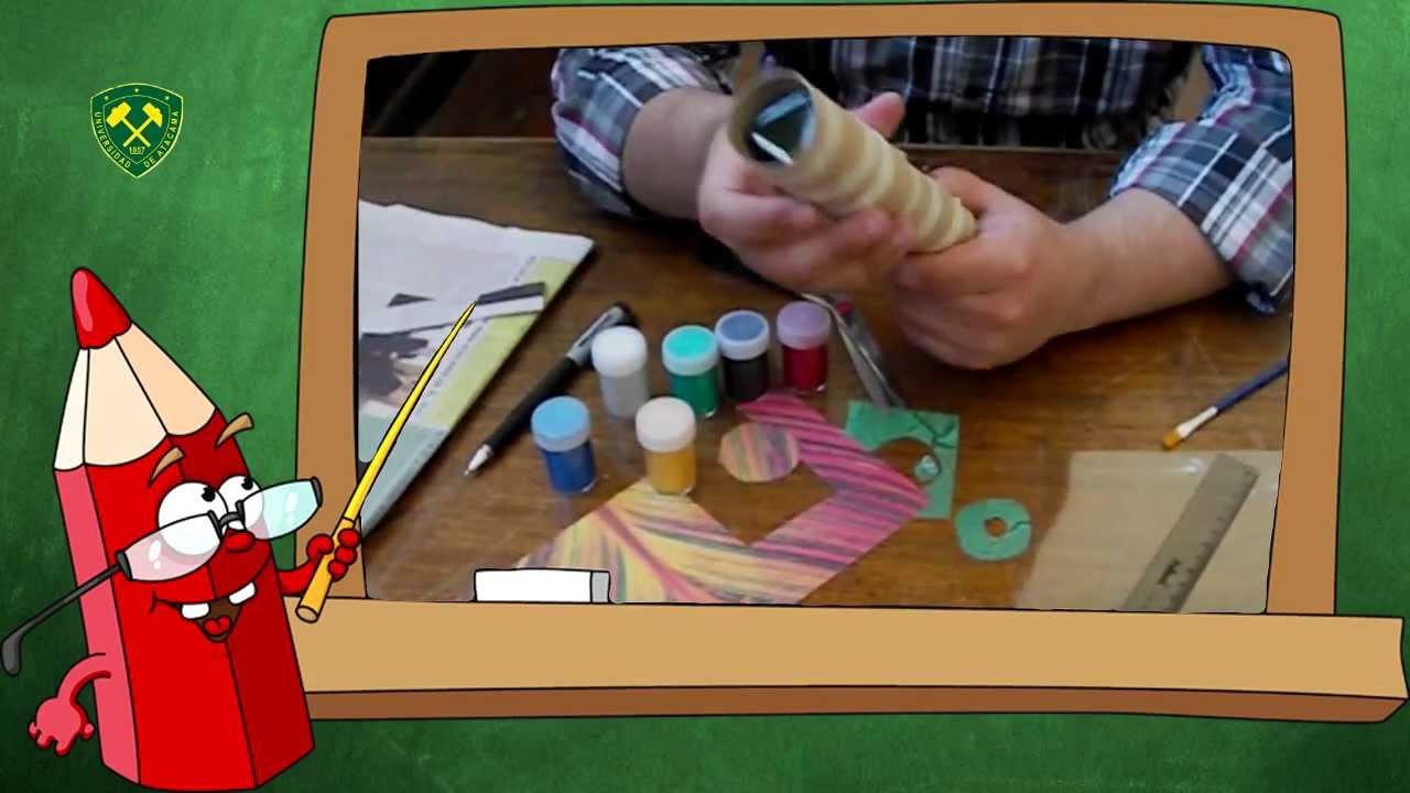 C mo hacer un caleidoscopio youtube - Como se hace un cabecero tapizado ...