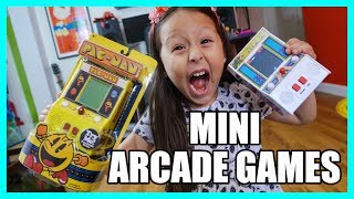 MINI ARCADE GAMES: PACMAN AND CENTIPEDE