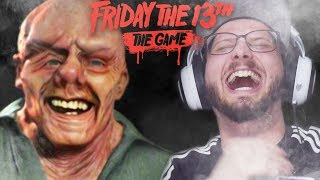 EU. NUNCA. RI. TANTO! | Friday the 13th The Game