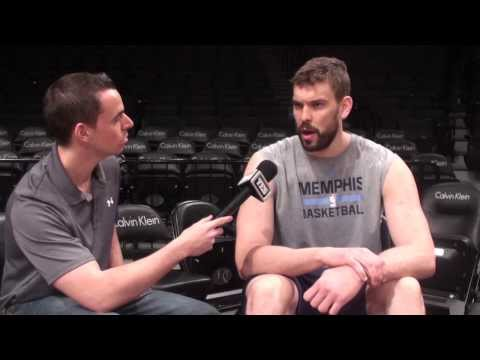 Grizzlies Marc Gasol on playing against Nets Kevin Garnett