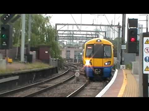 London Overground, Class 378 action at Camden Road 19/06/2012