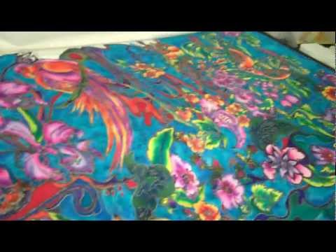 Silk painting online art classes by Barbara Gabogrecan Join Now