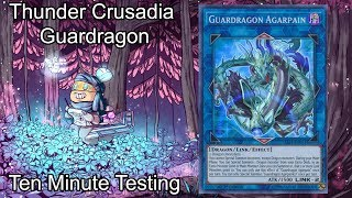 THUNDER (CRUSADIA) GUARDRAGON [JULY 2019] - Ten Minute Testing 7/19/19