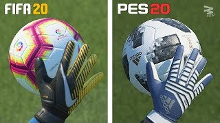 FIFA 20 vs PES 20 ⁞ Graphics Comparison