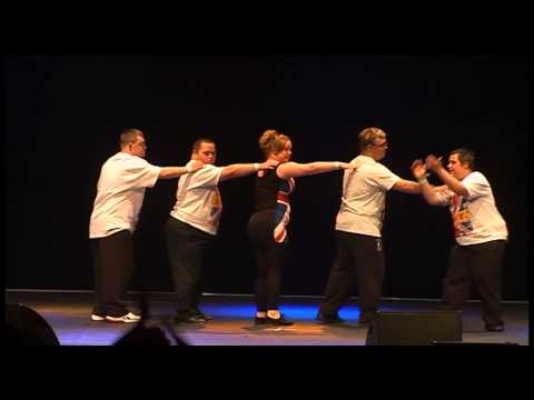 JTD of Performing Arts Showcase Performance IFDPA 2012 at Disneyland Paris