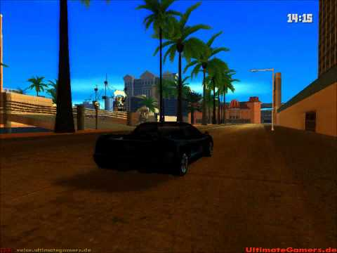 GTA SA - ENB-Series, Timecyc, Street(Road) Textures and Vegetation Mod