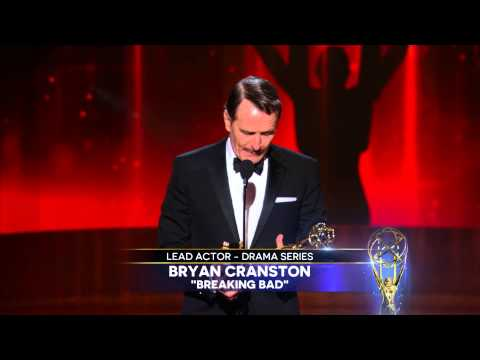 Bryan Cranston Wins for Lead Actor in a Drama Series