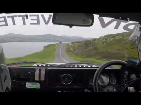 Knockalla Stage, Andy Johnson Chevette HSR - Joule  Donegal Historic Rally 2016