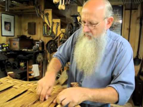 Appalachian craftsman makes unique woodwork furniture with traditional hand tools