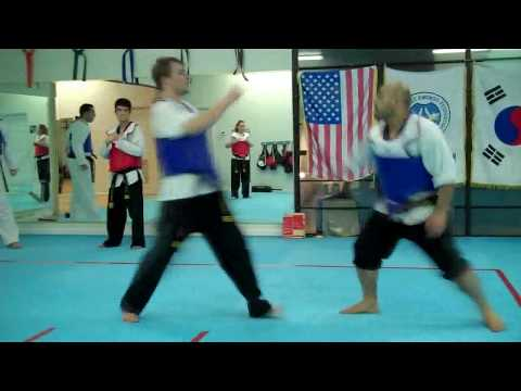 Taekwondo Advanced Sparring Techniques Vol 4 Image 1