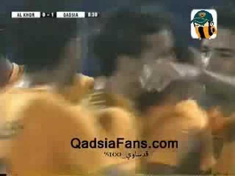 Qadsia 5-0 Al Khor (Bader Al Mutawa Goal 1)