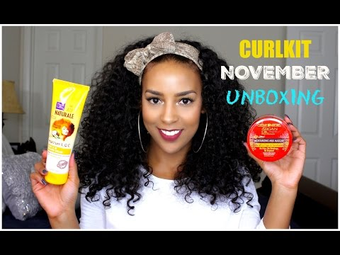 Curlkit Unboxing | November  2015